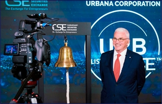 Market Open at the CSE Media Centre: Urbana Corporation